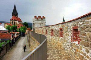 le mura di Bardejov