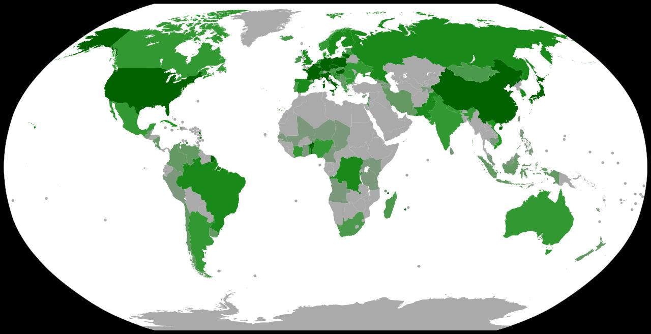 Esperantisti nel mondo