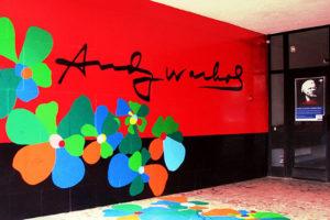 ingresso al Museo Andy Warhol