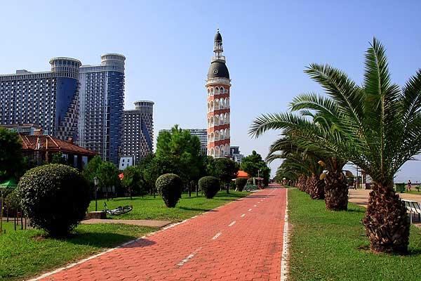 lungomare di Batumi