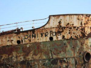 dettaglio della nave