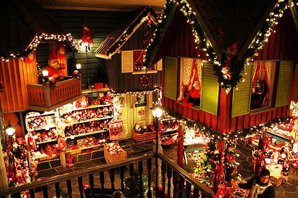 interno della casa di Babbo Natale