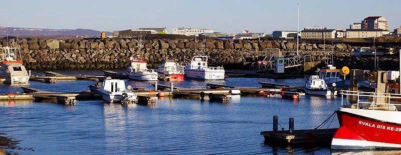 il porto di Keflavik