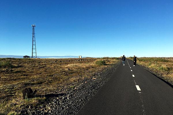 il sentiero verso Keflavik