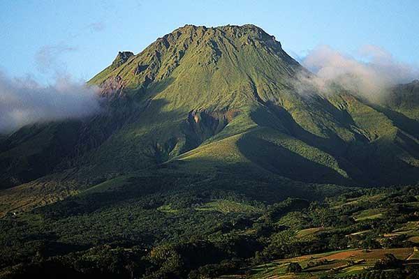 vulcano Pelée Martinica